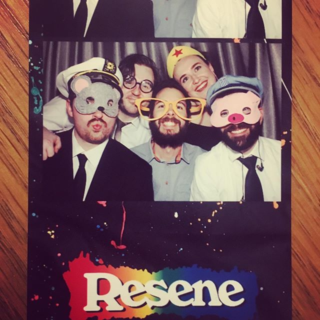 Did we mention we love photo booths?! Thanks for a great night @resenecolour ✖️ #superbadnz #wellingtonevents #photobooth @boothlife