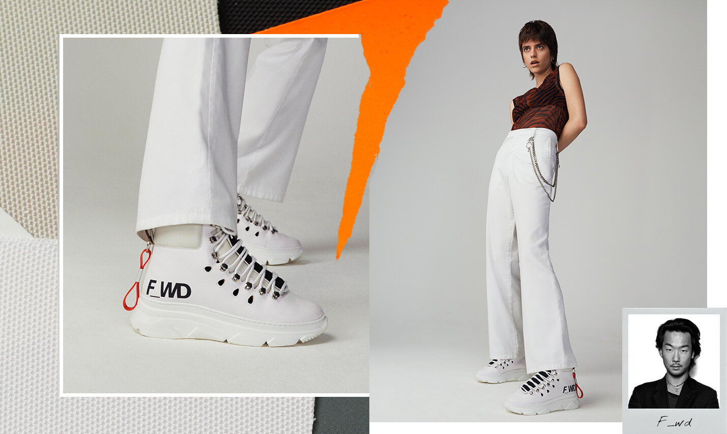F_WD - trainers    / styled with vintage items