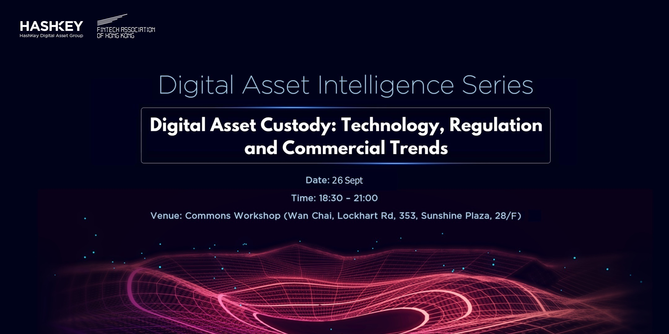 As the digital asset industry has evolved over time, technology solutions and regulations around digital asset custody solutions have continued to develop. Institutional investors, financial institutions, and regulators around the world are longing to see custody solutions that are as equally robust as those provided for traditional assets, in order to enable institutions to be fully engaged with digital assets.  In this event, we are inviting experts from the field of custody service, cybersecurity, insurance, and professional services to share insights on the current state and the commercial trends of this foundational part of the cryptocurrency and digital asset industry.    18:30 – 19:00 Registration  19:00 – 19:20 Research Keynote 1  19:20 - 19:40 Research Keynote 2  19:40 – 19:45 Break  19:45 – 20:15 Panel Discussion  20:15 – 21:00 Networking