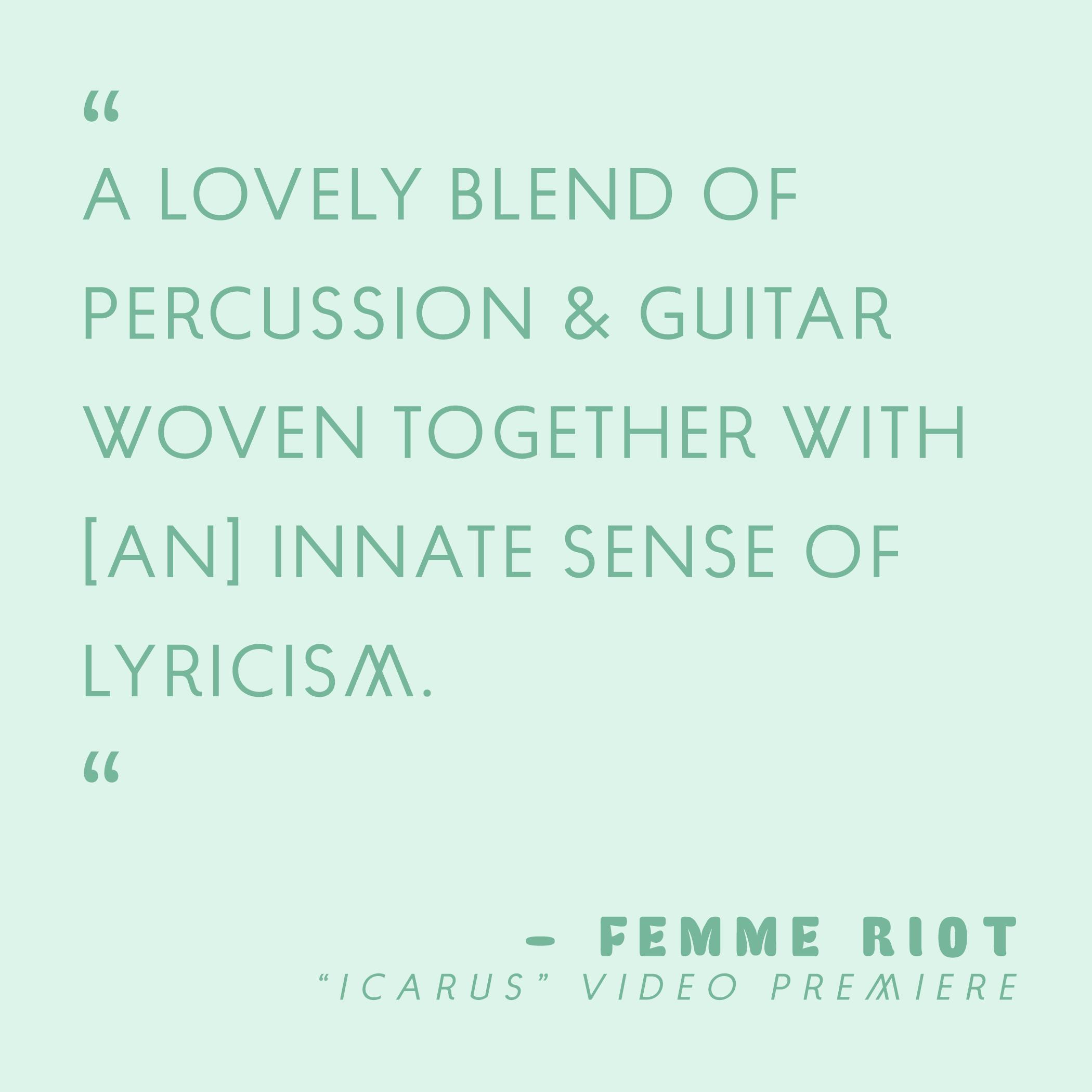 Femme Riot | August 2019