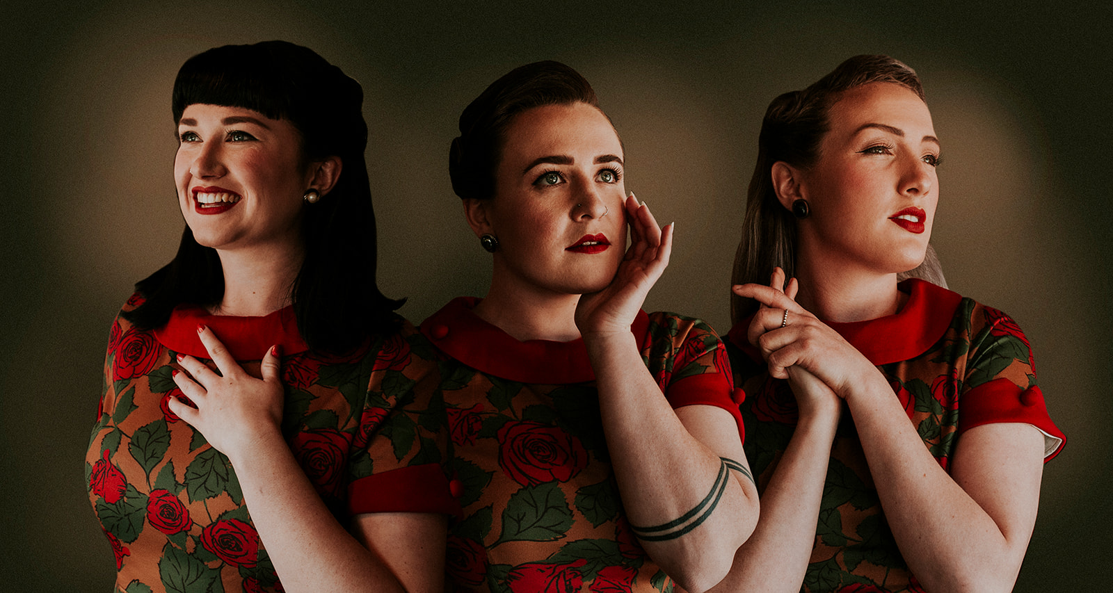 THE VICTORY DOLLS - Lauren Armstrong / Moira Jean / Katelin Little3 part close-vocal harmonies