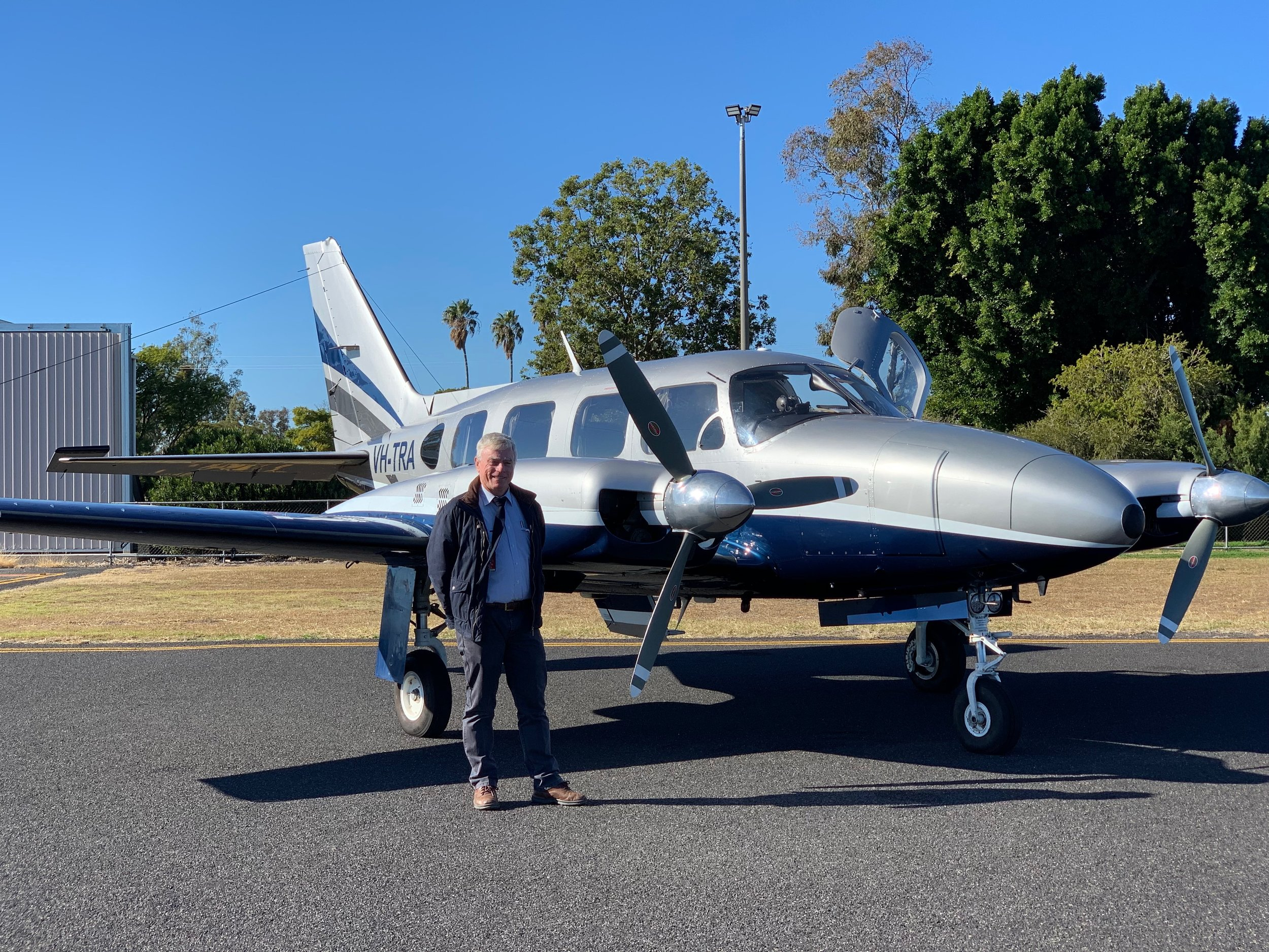 Peter Travers - GOONDIWINDIPeter Travers is a highly experienced pilot who owns the business he operates. His knowledge of the area and his experience will ensure that your charter trip is carried out to high standards.