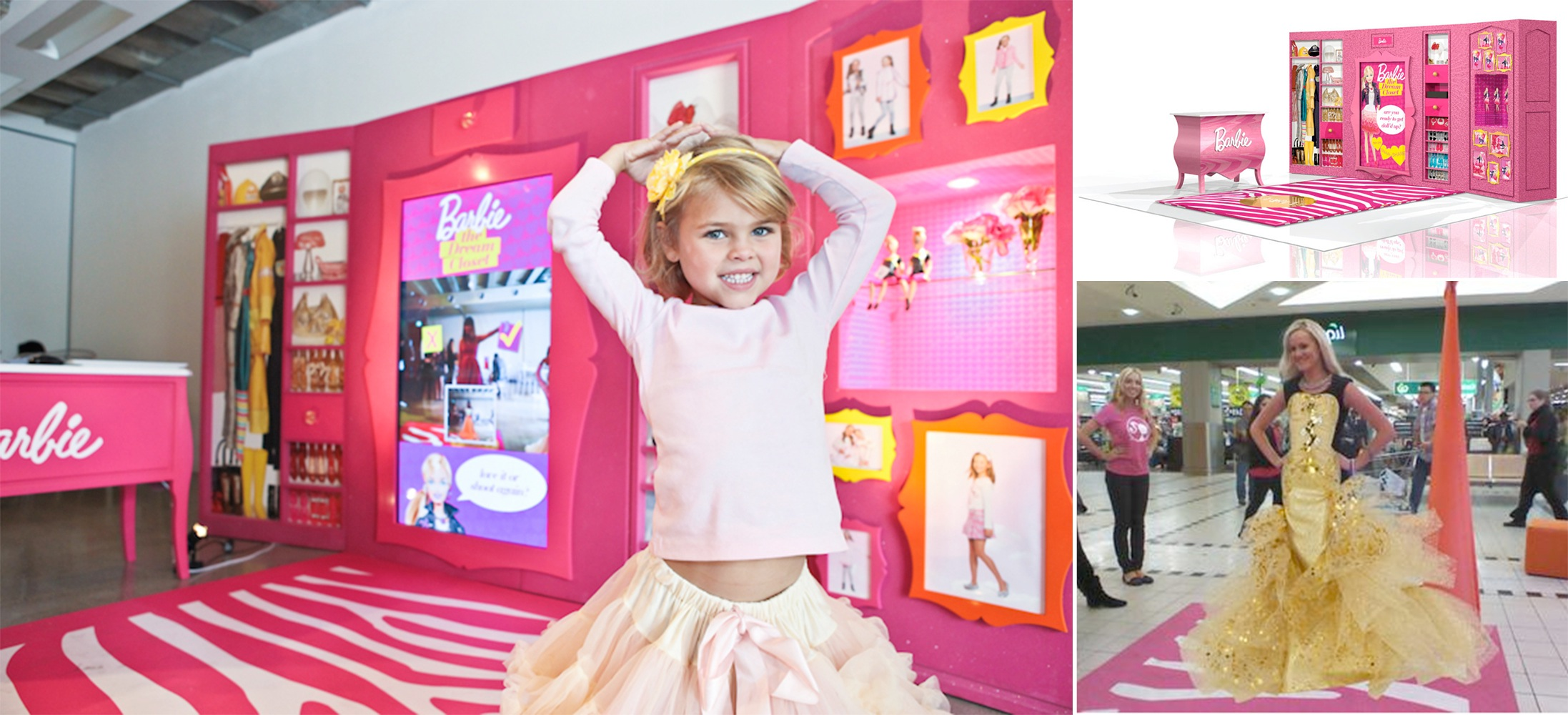 Apr 2012 - Working with Gun Communications, we launch Barbie's Dream Closet AR Experience for Mattel Toys. It's a hit!