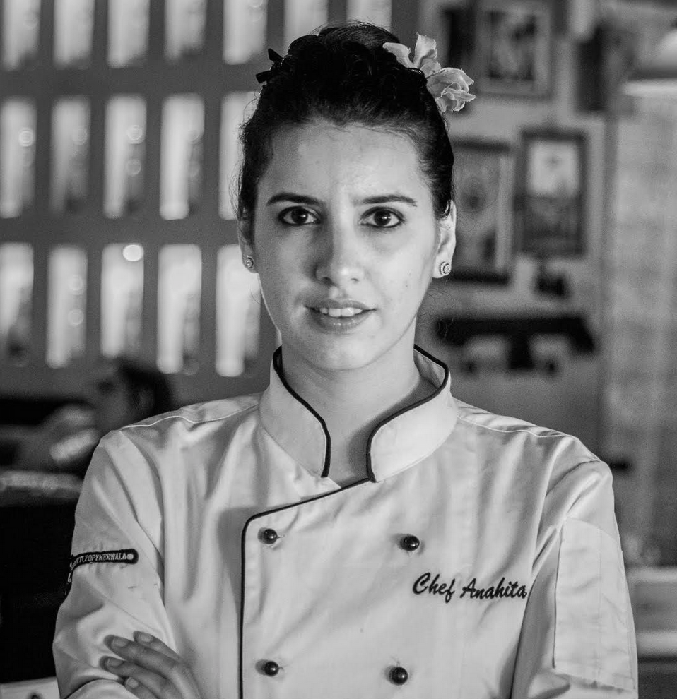 rise of the millennial leaders - Chef Anahita N DhondyChef Partner, SodaBottelOpenerWala,Forbes 30 under 30