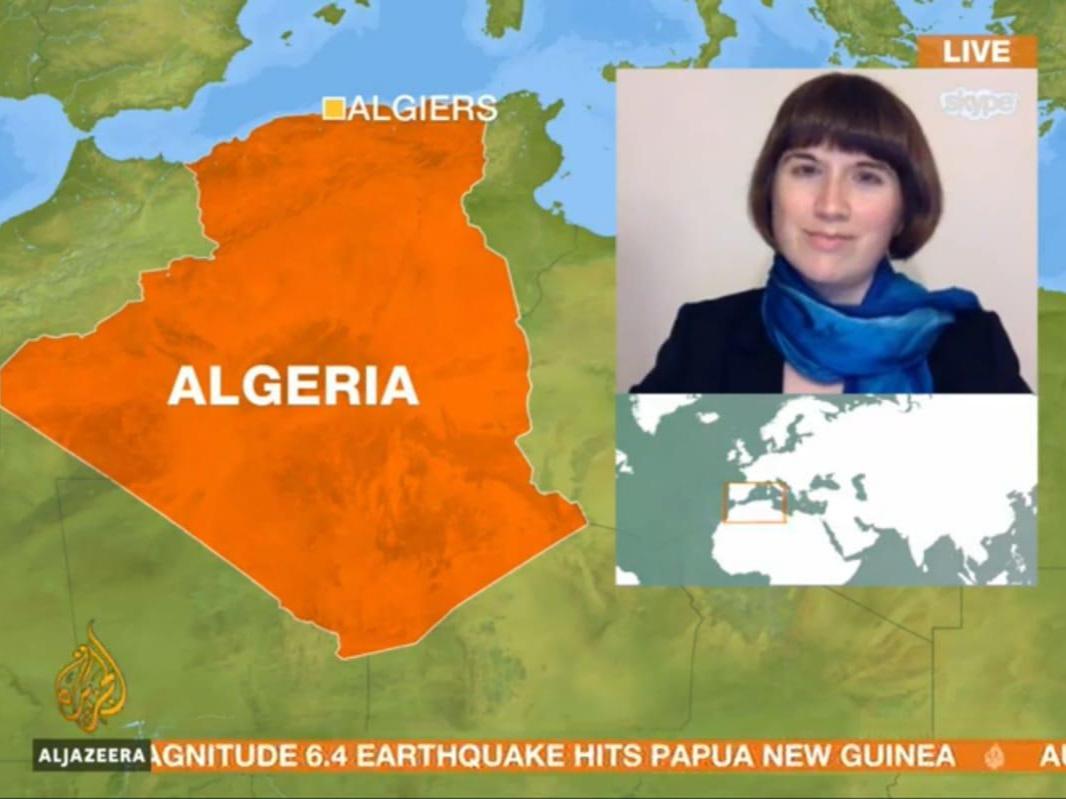 A Jazeera Skype interviews from Algiers on Algeria Protests - 30 Mar & 31 Mar 2019