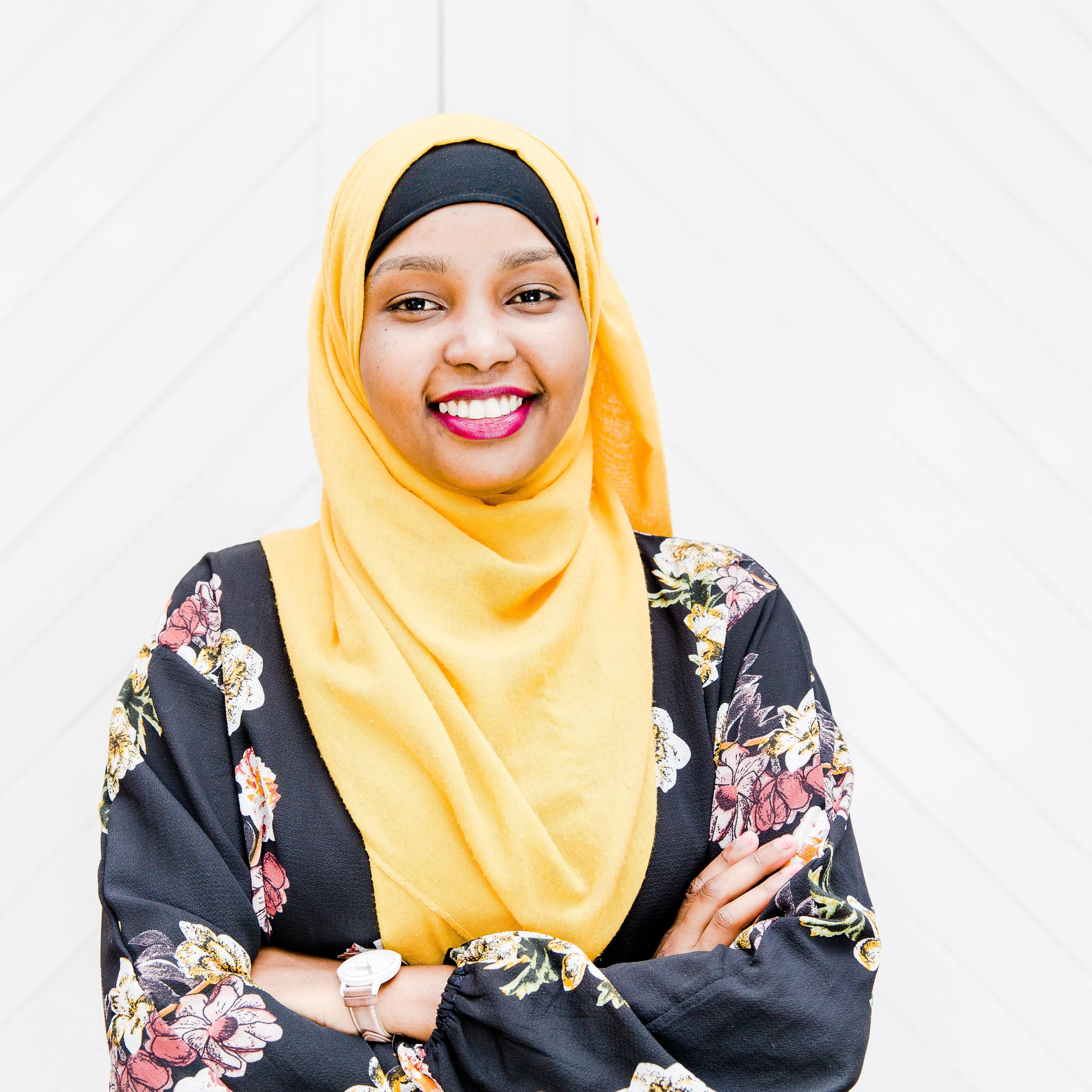 SAADIA ALI  Field Coordinator