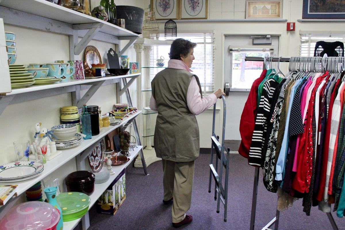 This photo was featured in an article by the Maryland Independent regarding our Thrift Shop!