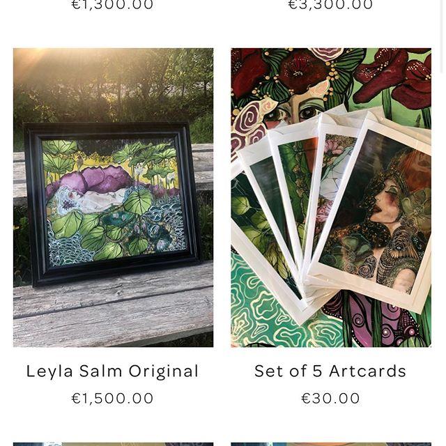 A lot easier to order with the shop now integrated with the website!  www.leylasalm.com  Follow at Instagram : www.instagram.com/leylasalm  #artist, #art, #artnouveau, #artdeco #design #designer #kunst #nederland #contemporary #dutch #leylasalm #konstnar #paris #collab #stockholm #handmade #konst  #sverige #sweden #newyork #original #Mariestad #jugendstil #Inspiration #Örebro #skövde #artgallery #konstgalleri #webshop