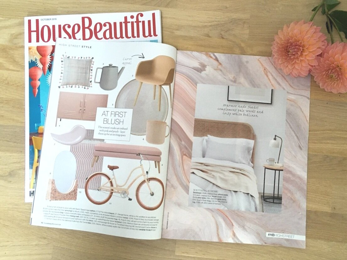 House Beautiful Hot on the high street Supplement Oct 2019