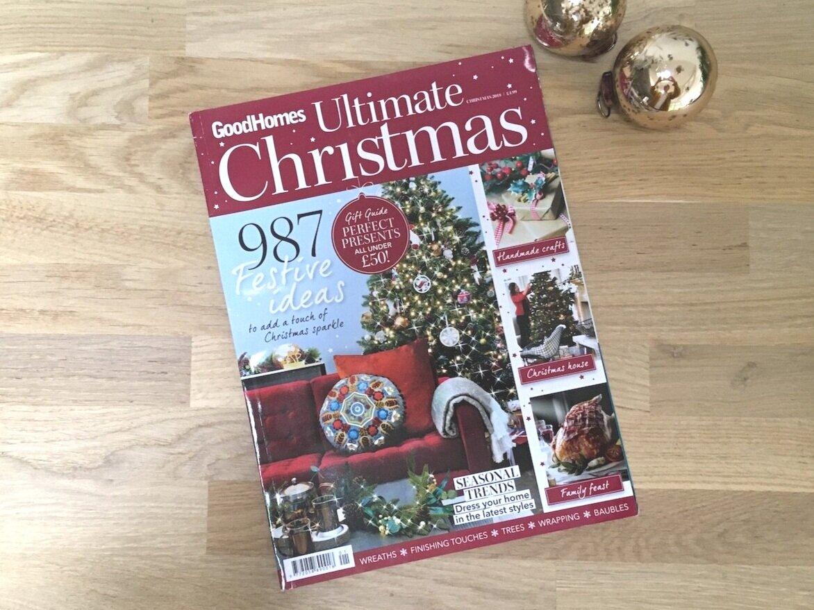 Good Homes Ultimate Christmas magazine 2018