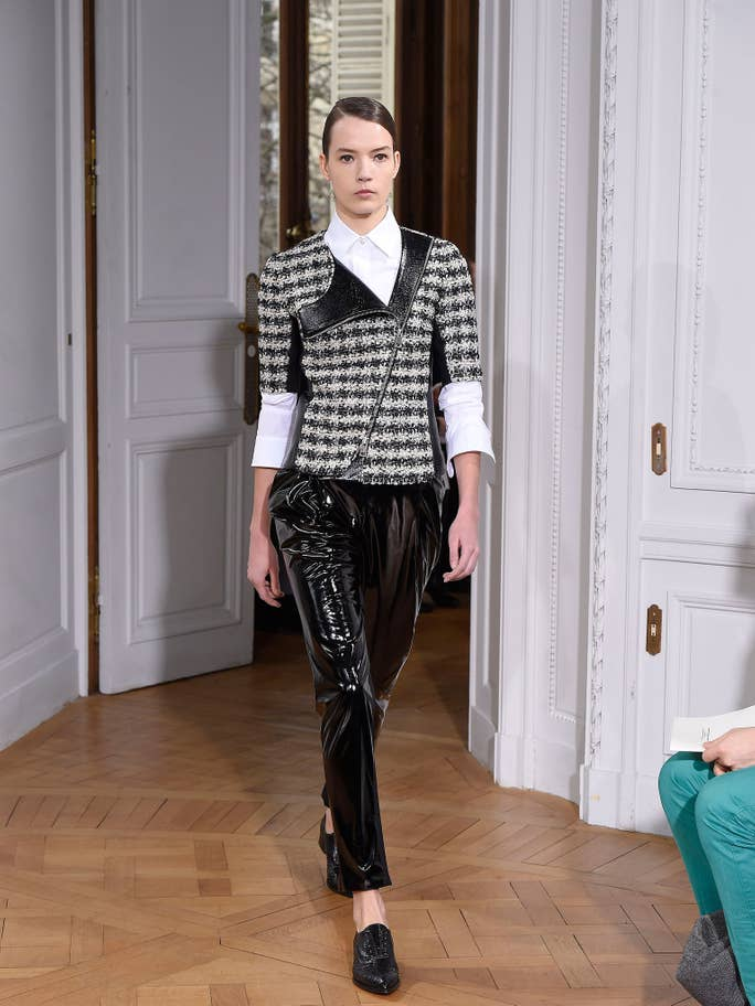 Looks from Bouchra Jarrar's s/s 15 haute couture collection
