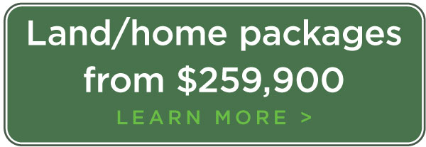 Land/home packages from $289,000. Learn more.