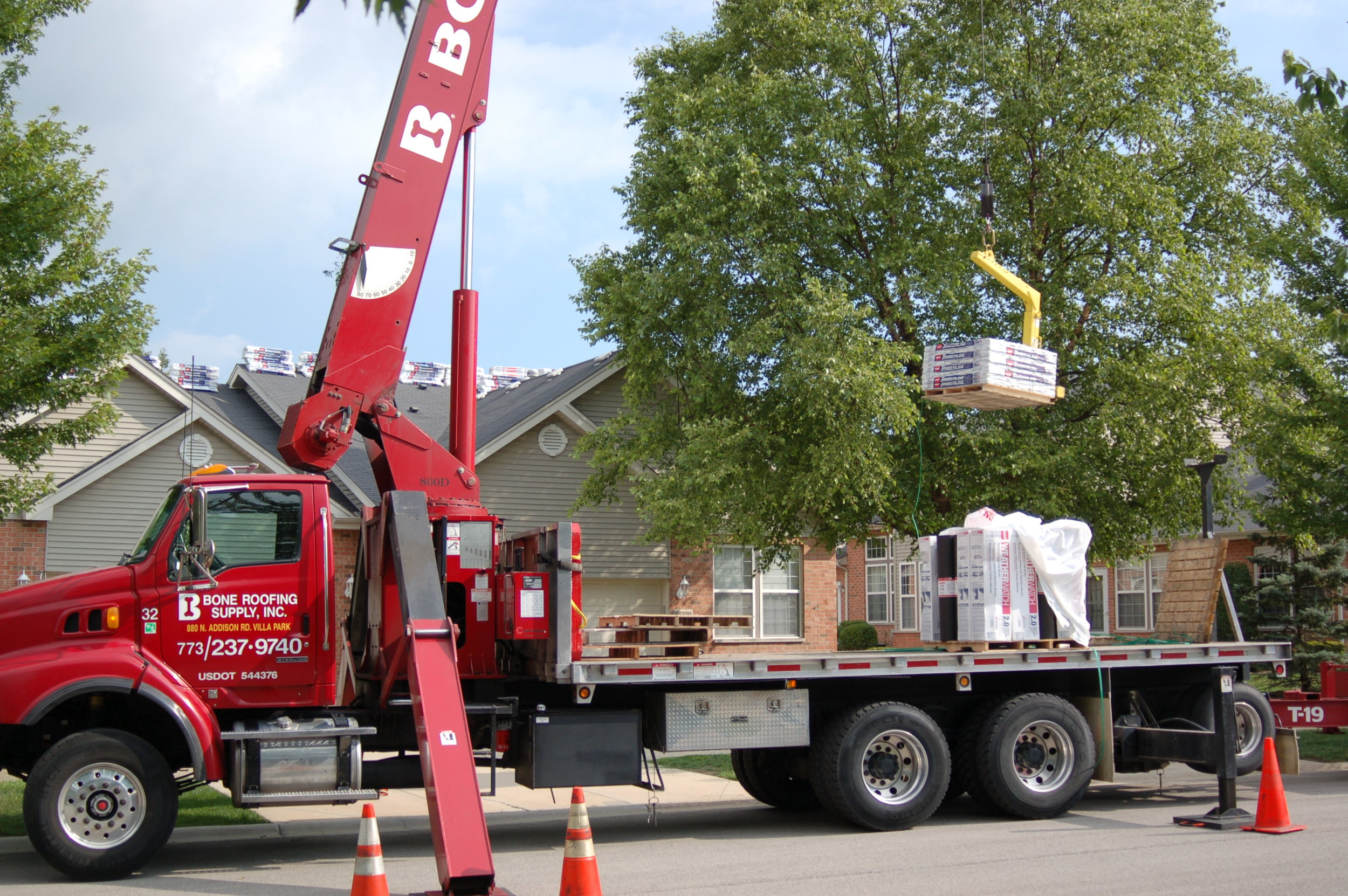 Roofing Distribution - From commercial to residential roofing distribution.