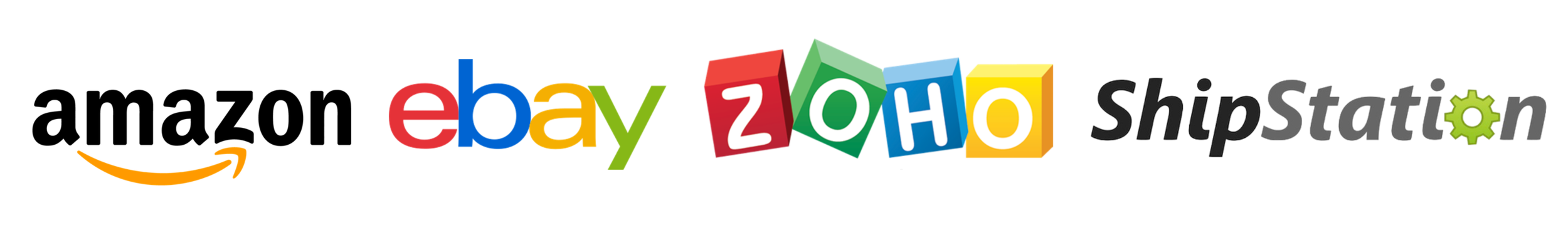 OMS supports integration with Amazon, eBay, Zoho and Shipstation APIs.