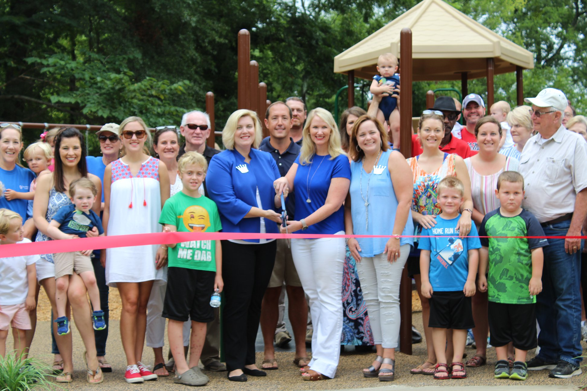Crown Park - Junior Auxiliary of Columbus partnered with the Lowndes County Board of Supervisors in the building of an inclusive playground at the Columbus Soccer Complex. JA of Columbus donated $75,000 towards the building of the play area which was open to the public in August 2018.
