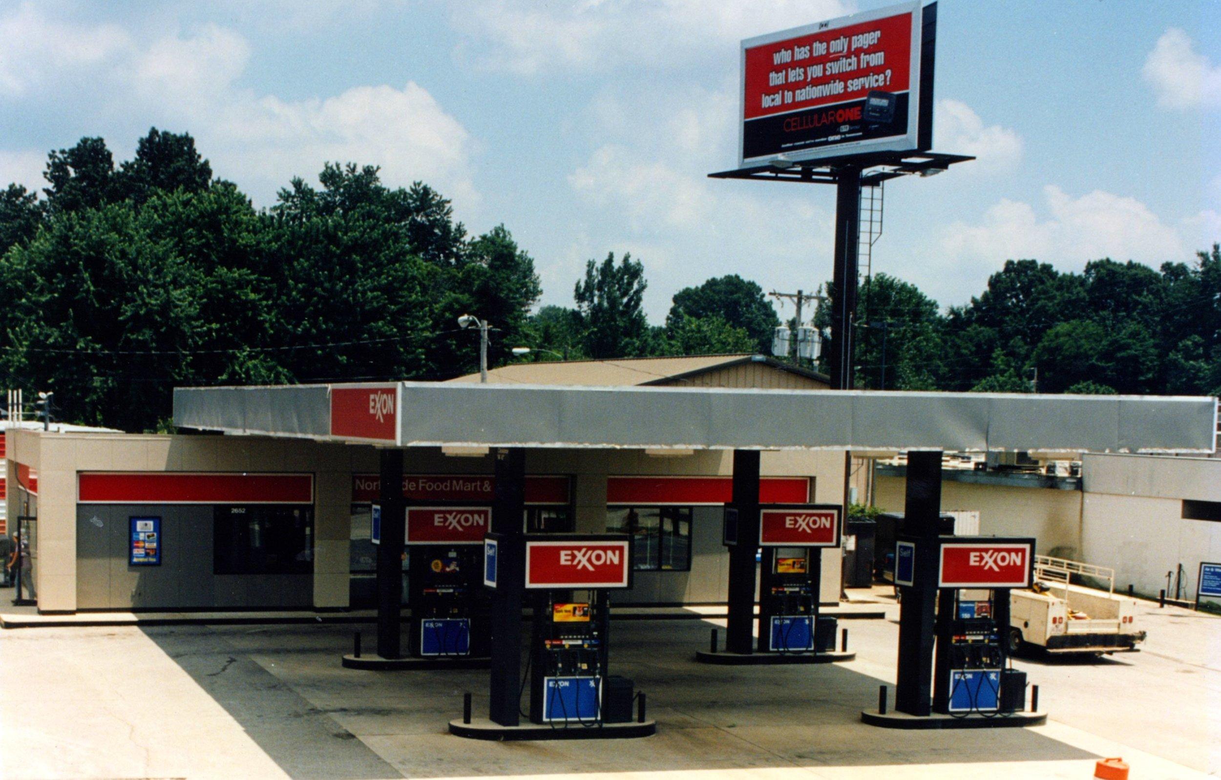 Exon Service Station