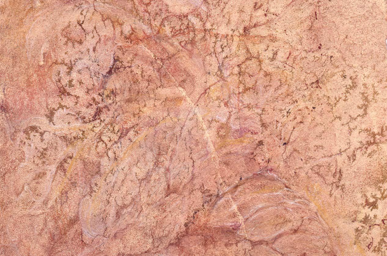 Arbor vitae (mauve crystalline) (detail)