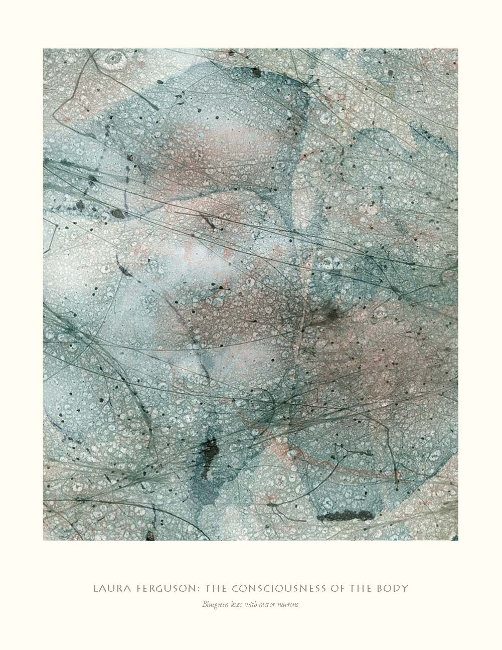 Bluegreen kozo with motor neurons  (Consciousness gallery)