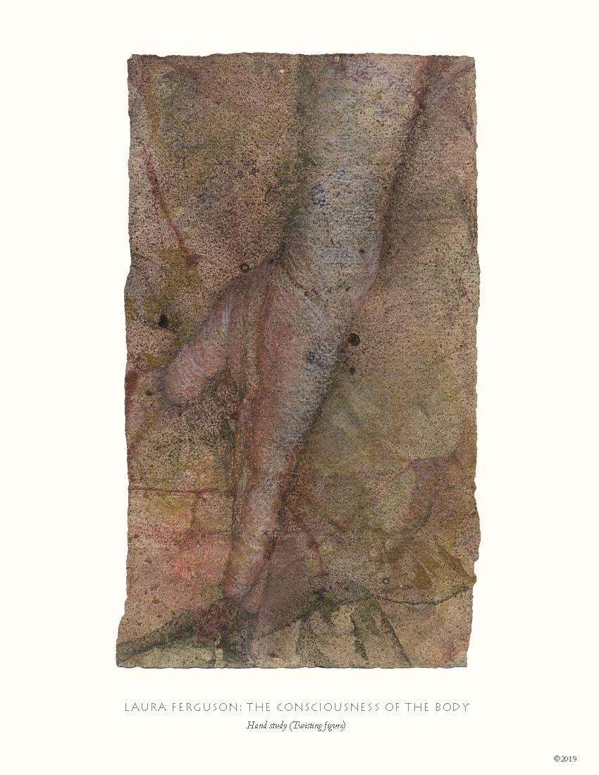 Hand study (Twisting figure)  (Consciousness gallery)
