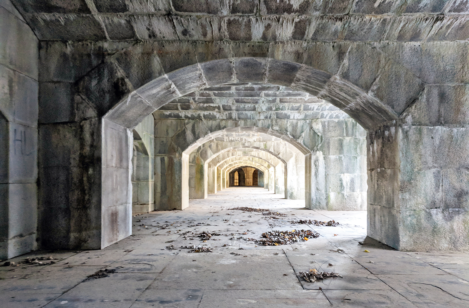 The Fort Totten Water Battery (Queens, NY)