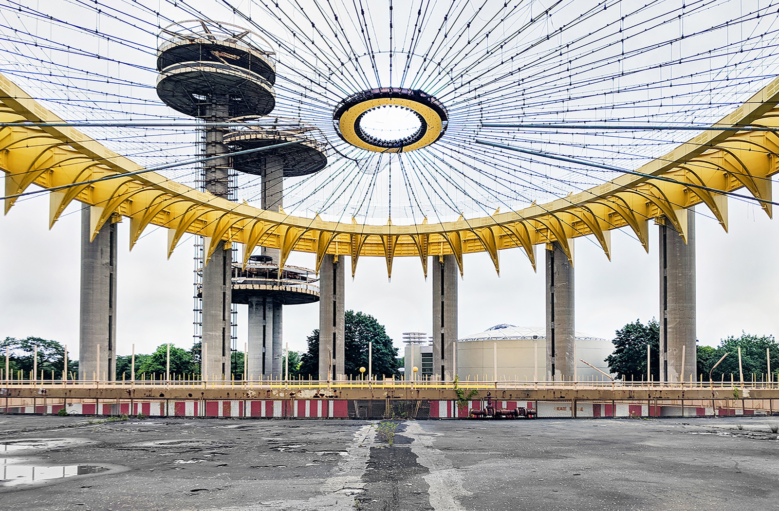 The New York State Pavilion (Queens, NY)