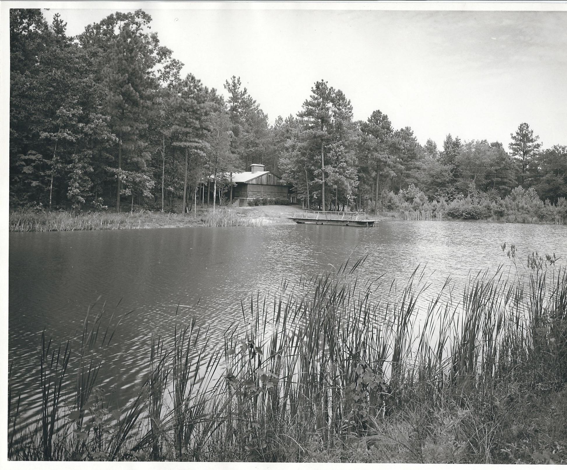James Family Lakehouse, circa 1960