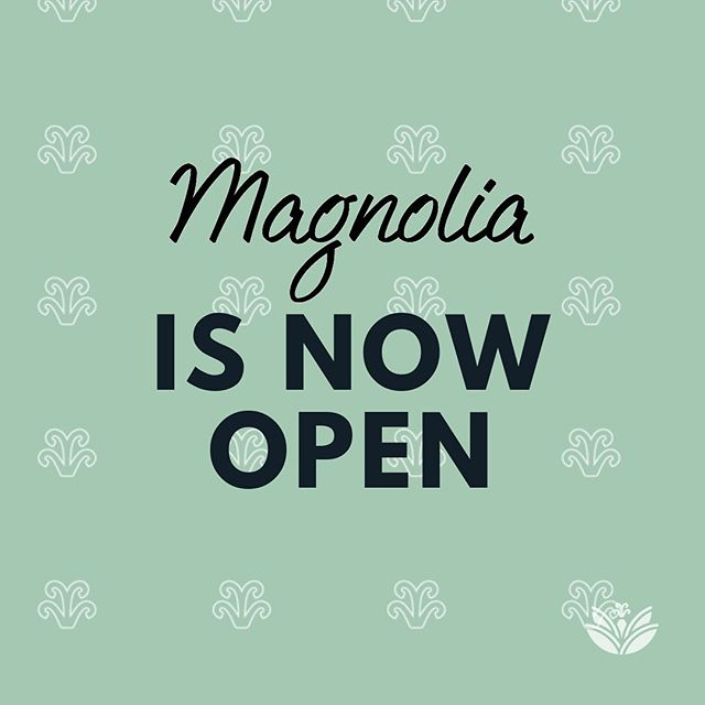 In case you forgot MAGNOLIA IS OPEN! Meet us at Magnolia for lunch or dinner or coffee and beignets! Treat yourself on a Tuesday! . . . Opening Hours Tues-Fri- 10am-9:30pm Sat- 10am-10 pm Sun- 9am- 4pm PUBLIC HOLIDAYS- CLOSED . . . OPEN NOW not SOON! For more information please email info@magnoliacafett.com . . . #cajun #creole #southernhospitality #NOLA #neworleans #neworleansphotography #architecture #comfortfood #coffee #cocktails #brunch #chickenandwaffles #beignets #livingmybestlife #everythingplace #everyonewilllove #homeawayfromhome #comingsoon #newrestaurant #trinifood #trinirestaurants #maravalplaza #magnoliacafett