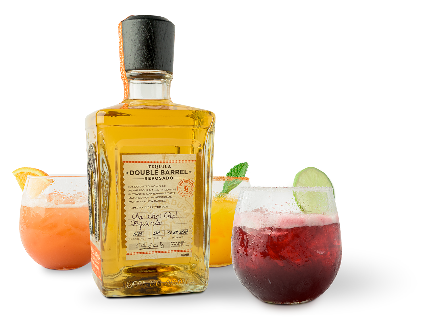 Only the finest Tequila - make the finest Margaritas