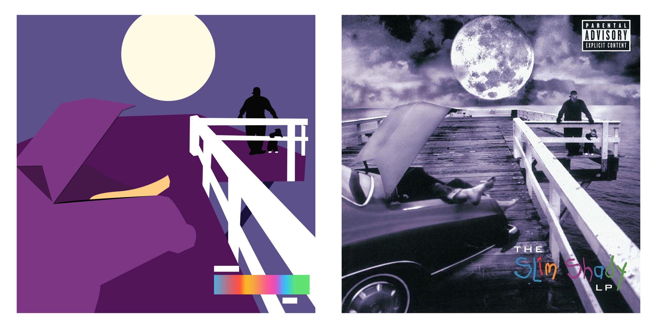 Eminem -  The Slim Shady  LP   (1999)
