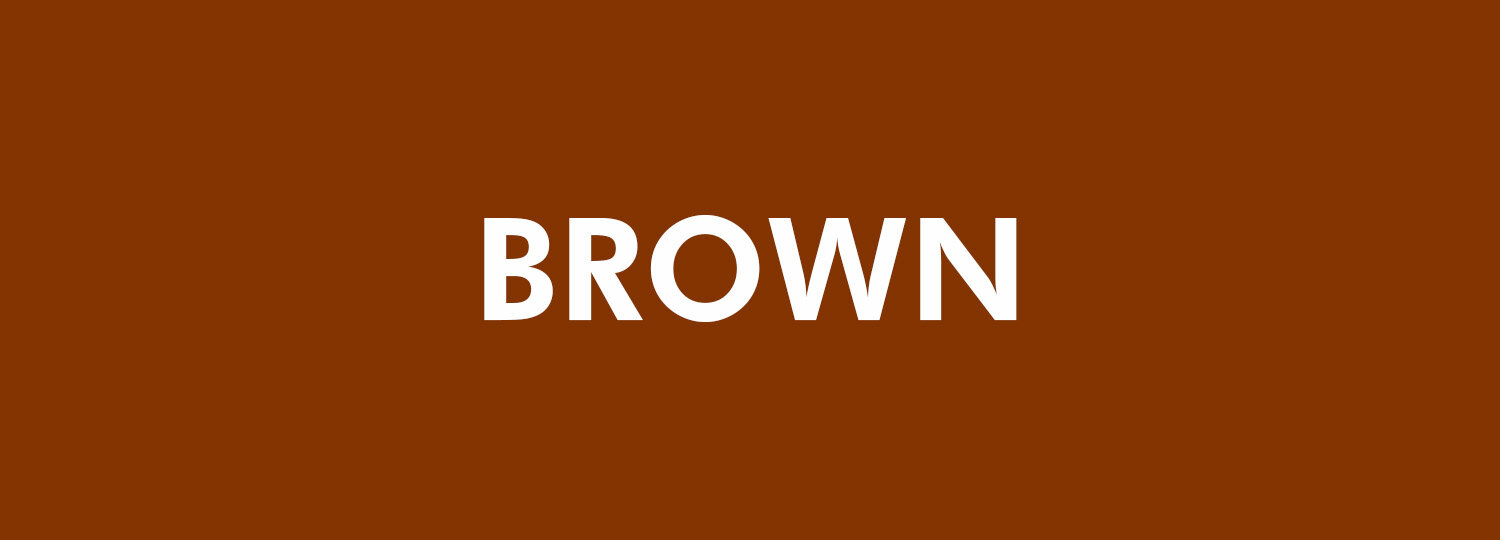 Graphic Design Colour Theory - Brown