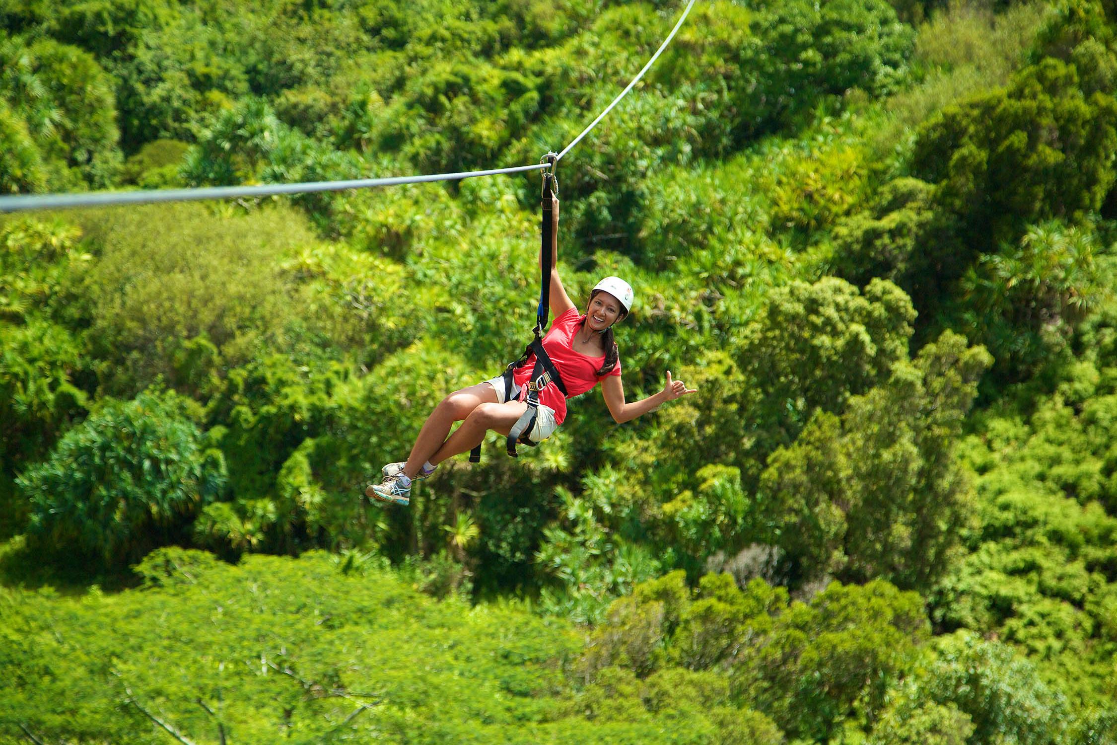 ZIPLINING - Ziplining is fun for those looking to combine island sightseeing with thrills and adventure. Kauai is the Hawaiian island with the most ziplines.Outfitters KauaiKoloa ZiplineKauai Backcountry AdventuresJust Live