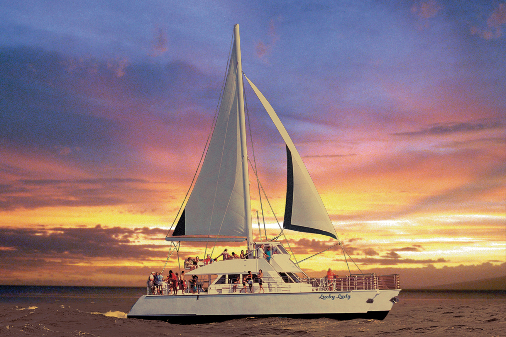 DINNER CRUISE - Kauai's Na Pali Coast is truly a must-see on your Kauai vacation. Come aboard a catamaran and combine sightseeing with a delicious dinner while the sun sets on the horizon. Or alternatively, go snorkeling first and then enjoy a dinner cruise.Blue Dolphin Charters - Na Pali Sunset Dinner CruiseHolo Holo Charters - Napali Sunset Sail