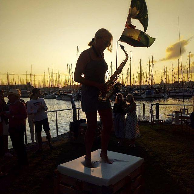 Ibiza or Plymouth?  #saxophone #altosax #djsax #dj #femalesax #house #ibizia #plymouth #sax #party #whiteparty