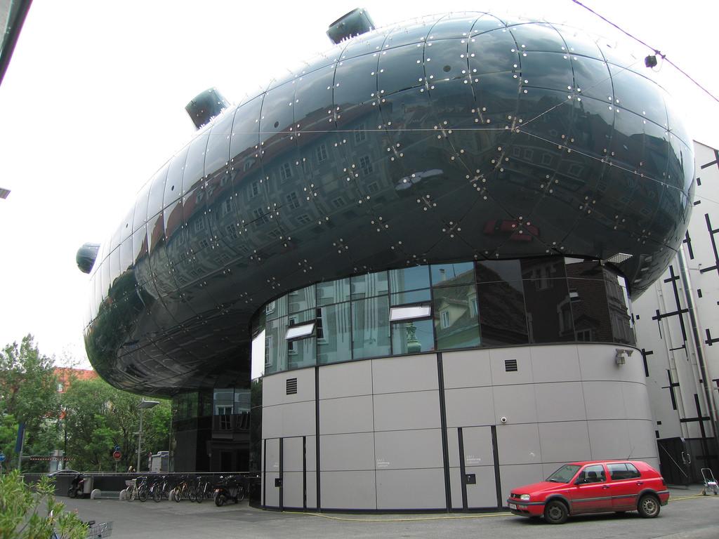 KunsthausGraz PeterCook ColinFournier