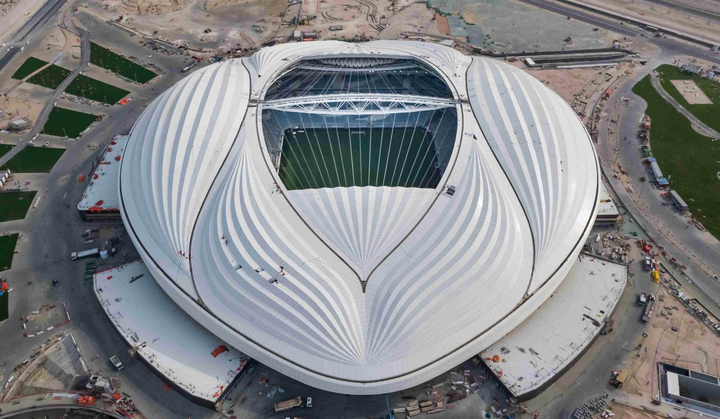 Dezeen: AlWakrahStadium ZahaHadid