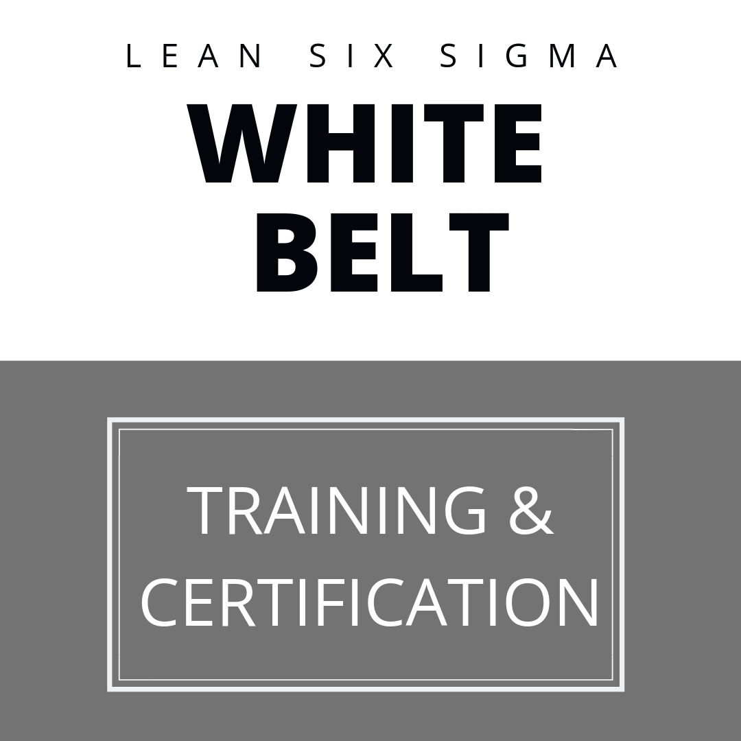 Lean Six Sigma White Belt Certification