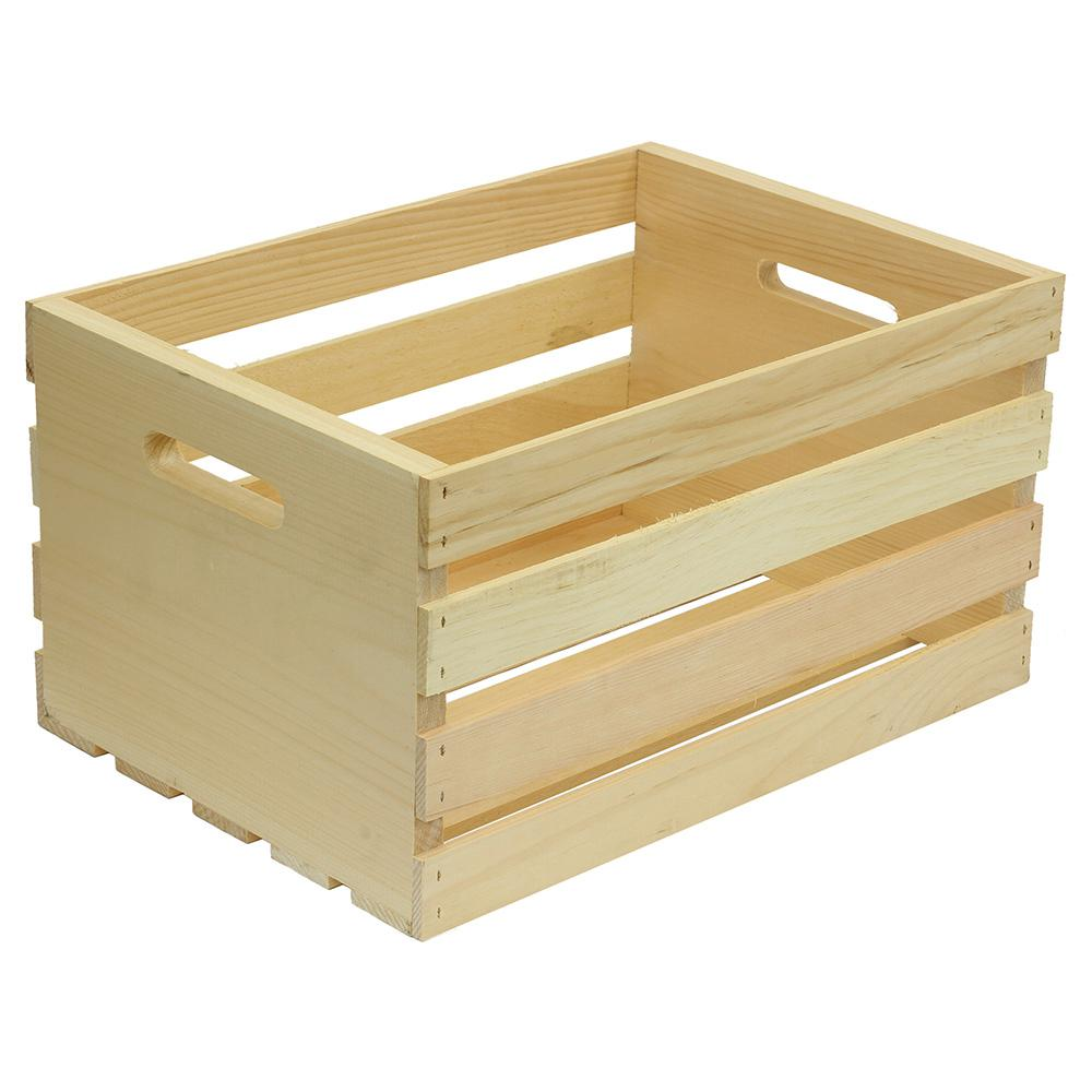 Wooden Crates from Home Depot $10.98