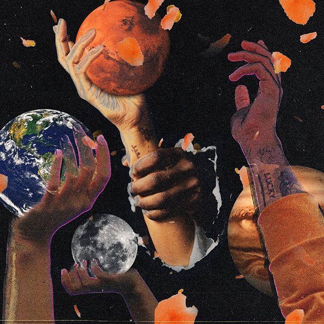 🌠🤲🏻🌎🌑 Art by BZDS❄️ ________________________ #digitalcollage #digitalart #creartmood #photoshop #adobephotoshop #creativedesign #albumartwork #localmusic #indieartist #indiemusician #independentartist #tampamusic #tampaartist #singersongwriter #coverartwork #collageart #digitallyart #photoediting #musicproducers