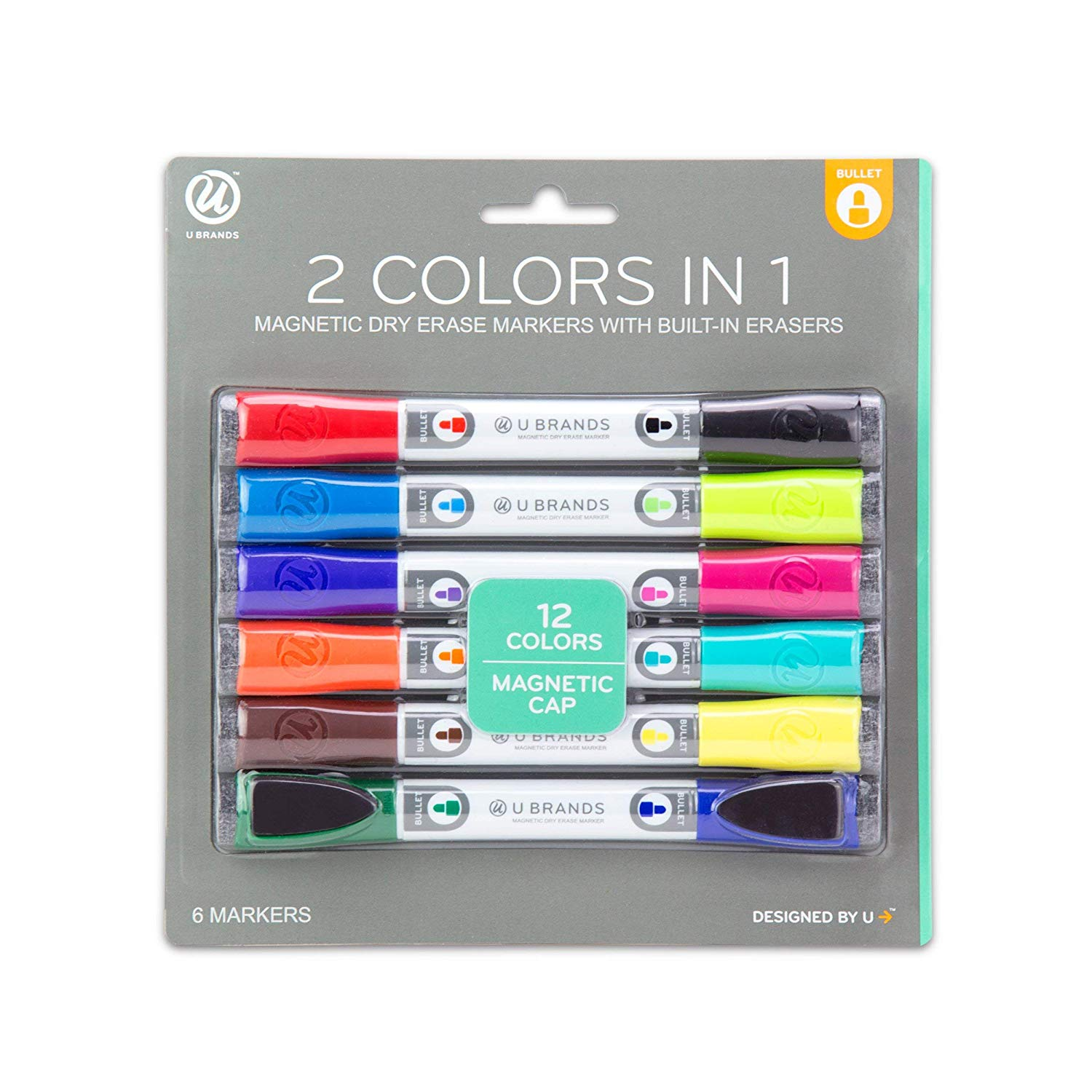 double sided dry erase markers - If you've seen my whiteboard lettering you know how much I love/depend on my markers! I'm shopping for new markers right now, and these double ended (!) babies are on the top of my wishlist (they're also magnetic and low odor!)
