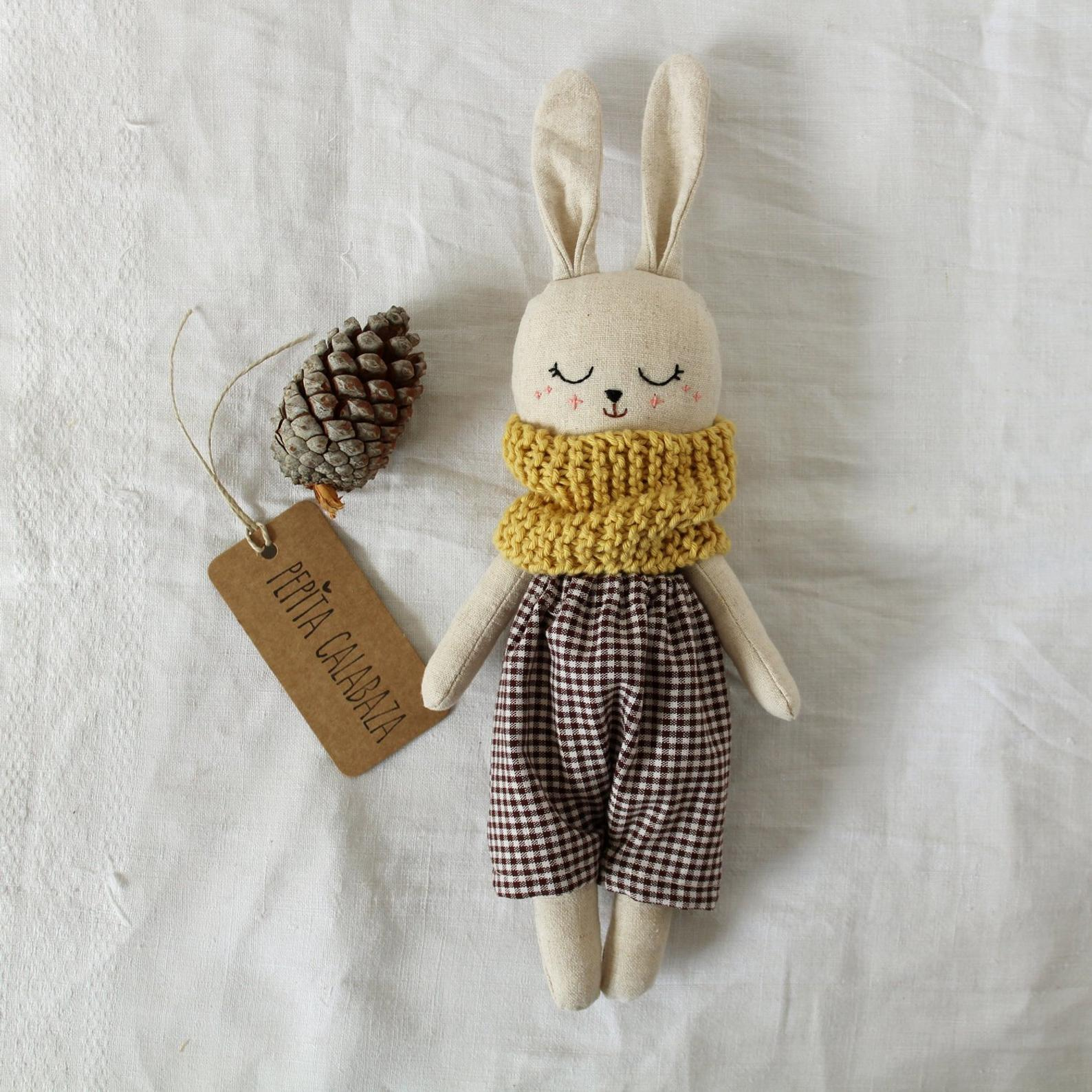 little bunny doll by abril millan on etsy