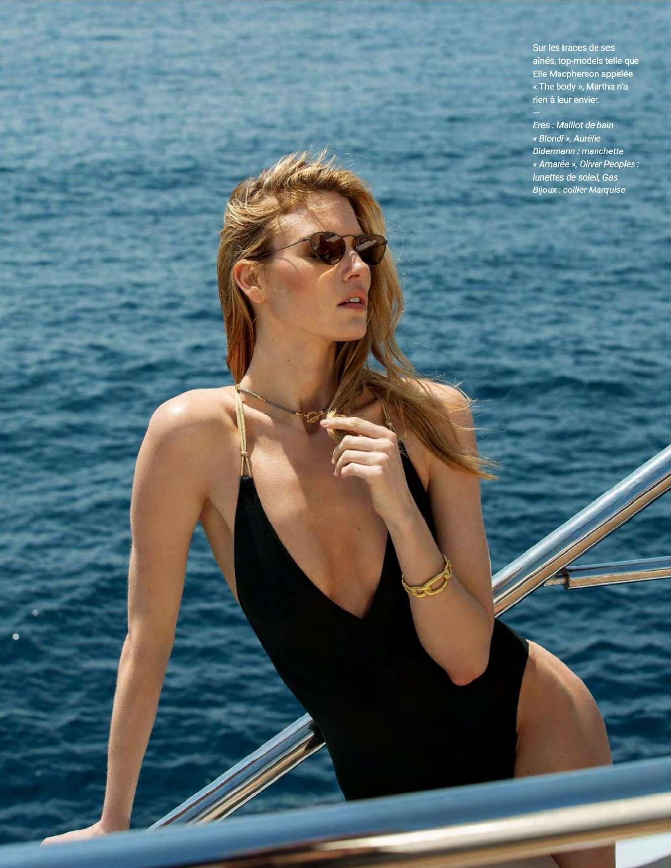 Martha Hunt - Photo France Magazine July/September 2019