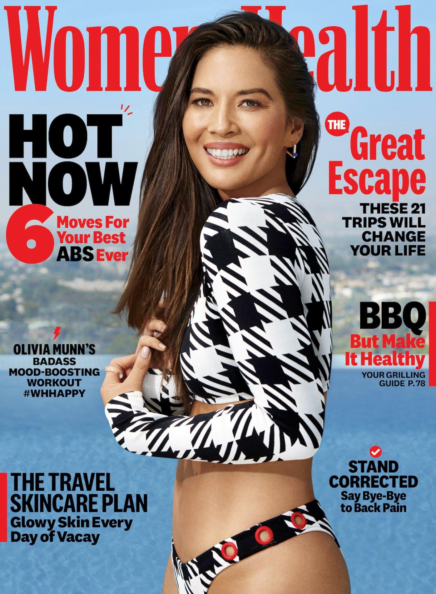 Olivia Munn - Women's Health Magazine July/August 2019