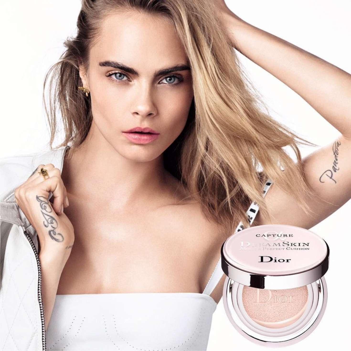 Cara Delevingne - Dior Dreamskin Campaign 2018