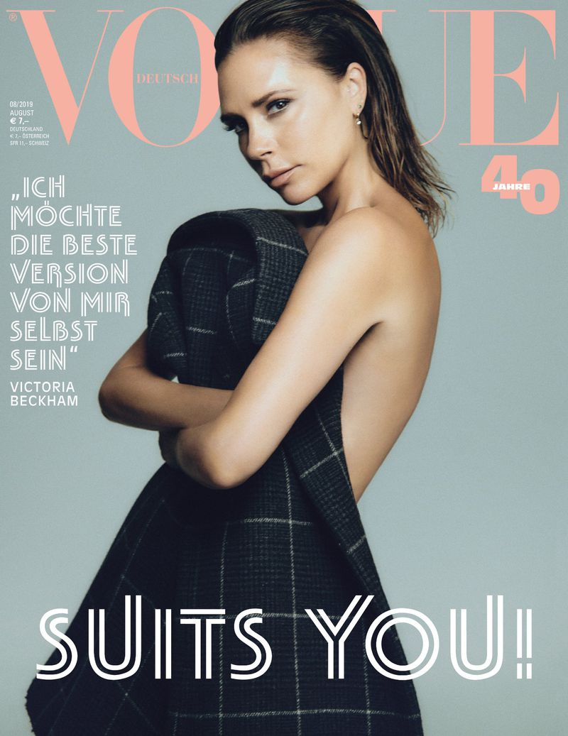 Victoria Beckham - Vogue Germany August 2019