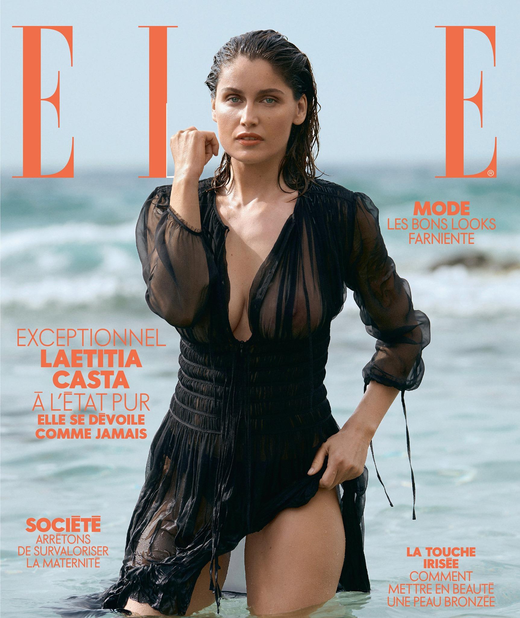 Laetitia Casta - ELLE France July 2019
