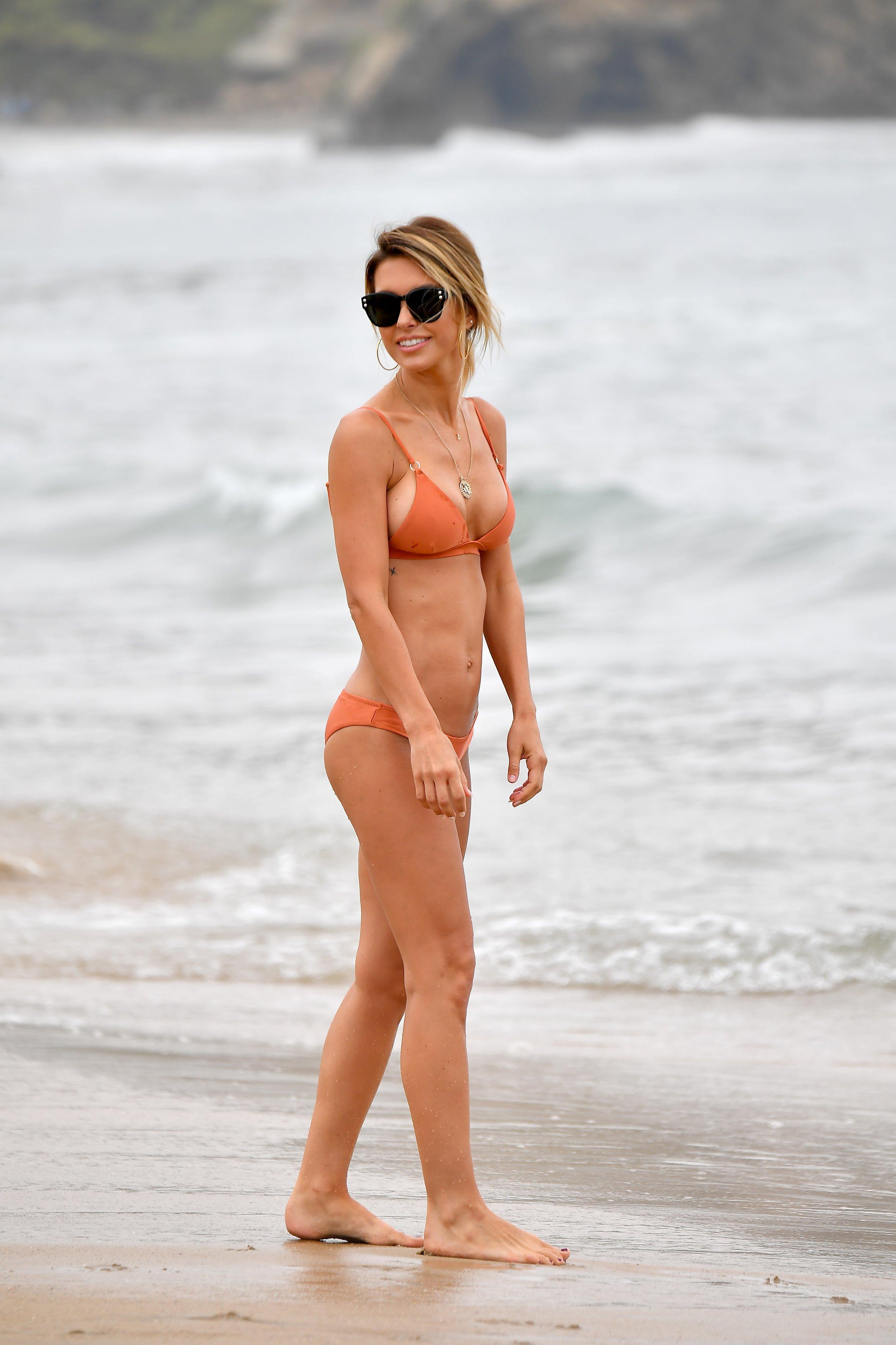 Audrina Patridge on the Beach in Santa Monica (07_15_19)