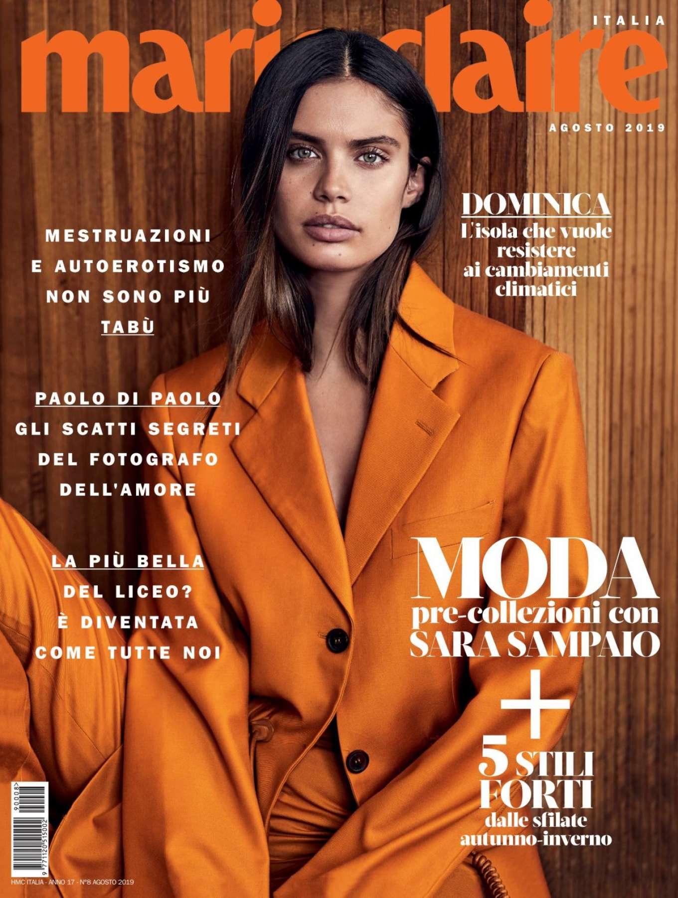 Sara Sampaio - Marie Claire Italy August 2019