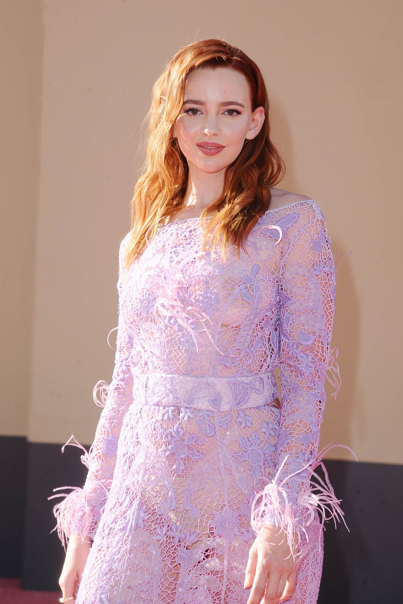 """Natasha Bassett - See-Through (No Bra) """"Once Upon a Time in Hollywood"""" Premiere in L.A. (07/22/19)"""
