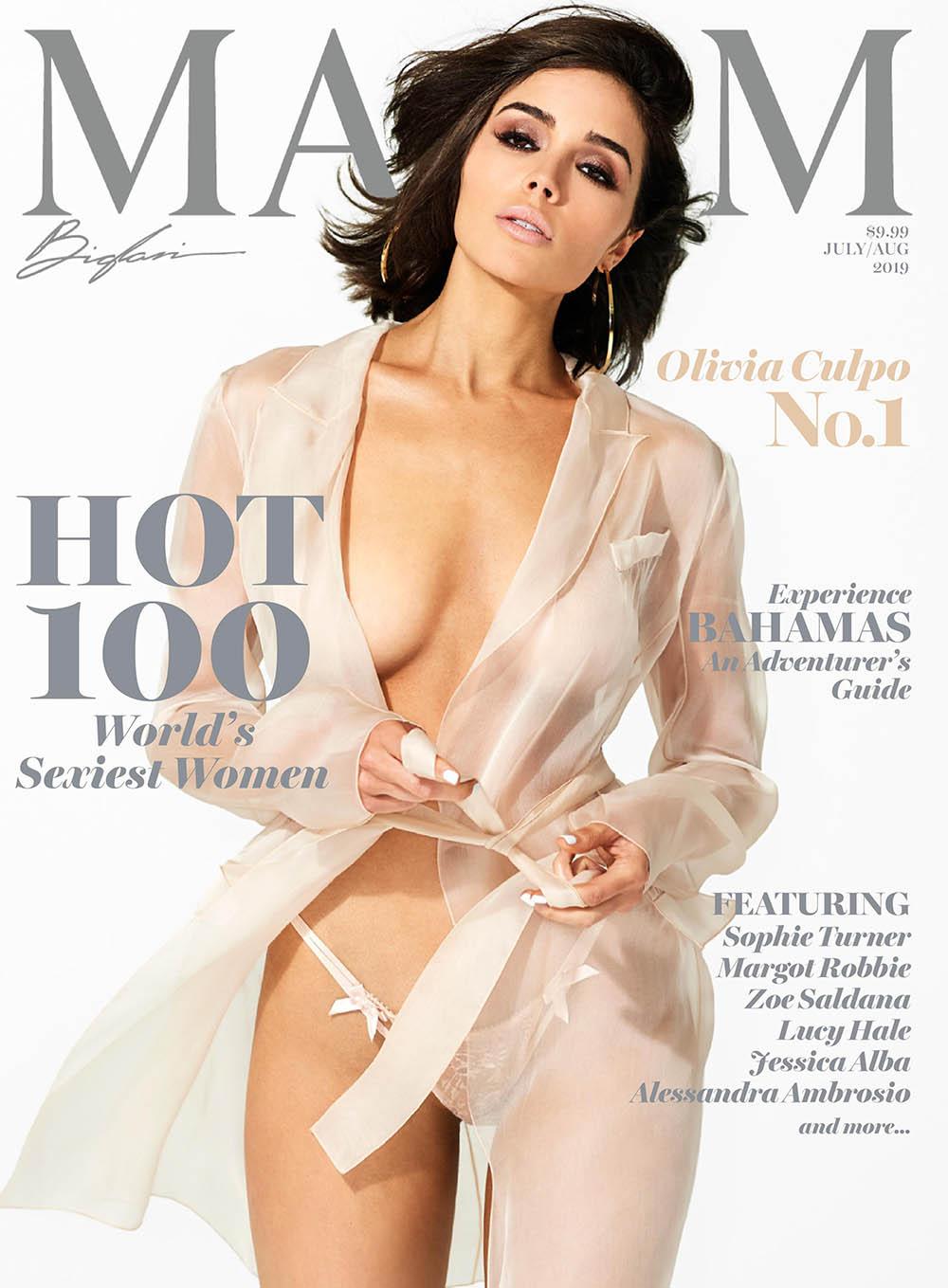Olivia Culpo - Maxim 100 July_August 2019