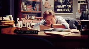 But the question is not belief, it's evidence, Mulder